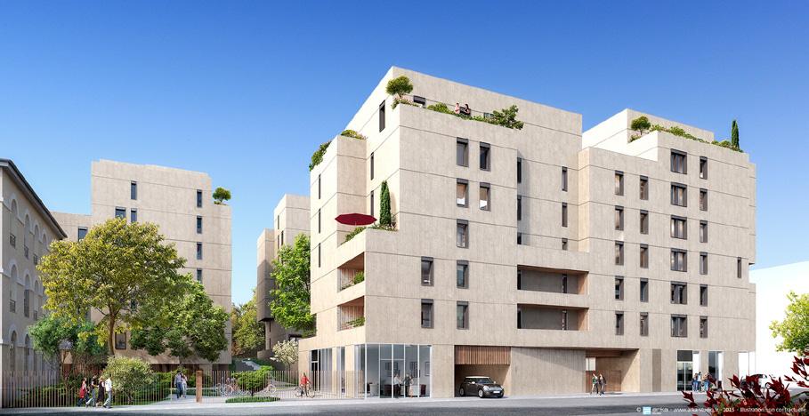 Vente appartement t3 neuf sur lyon 2 lots programme for Appartement t3 neuf