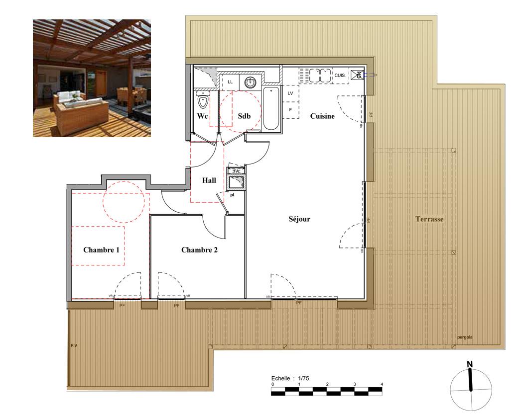 vente appartement t3 neuf sur ecully dernier tage grande