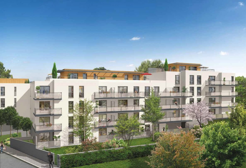 Vente appartement neuf en r sidence standing v nissieux for Vente neuf appartement