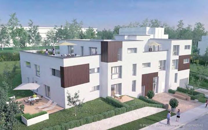 Promoteur de programme immobilier neuf oullins 69600 for Promoteur immobilier neuf