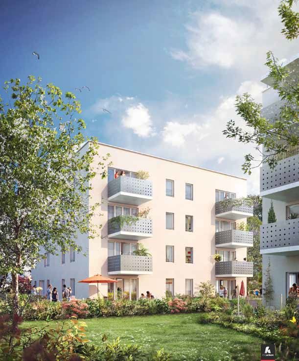 Achat appartement t3 neuf bron 69500 programme for Logement neuf achat